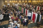 Exhibit hall panorama