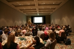 Packed house for luncheon session