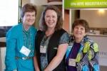 Mary W. (L), Ann C. (C) and Ellen L. (R) reunite