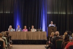 Ethics Forum - (L-R) Helen Sullivan, Matthew Taylor, Jean Jirkowic, Kelly Arora, Jacqueline Glover