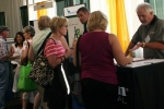 Exhibitor and attendees interaction