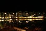 Keystone Lake at night