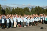 Human 50 hands-up!