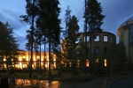 Keystone Conference Center at dusk