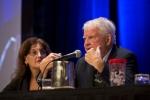 Nancy Rudner (L) & Richard Lamm (R) - Ethics Forum speakers