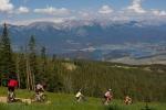 Mountain biking (photo credit Leisa Gibson)